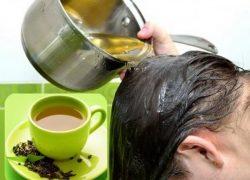 Sốc với 3 cách chống rụng tóc cực kỳ hiệu quả bằng chè xanh